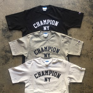 NY限定 Champion Custom New York T-shirt