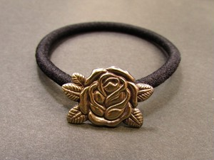 "Hair Elastic ""ROSE"""