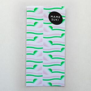 リソグラフ 一筆箋[微風組]Pale Pink × Green