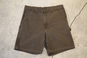 USED Carhartt Single knee shorts W33  P0304