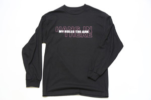 MY RULES THE ARK HANGロゴ ロングスリーブTシャツ