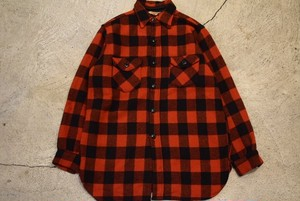USED 60s FROST PROOF Wool shirt -15 1/2 S0728