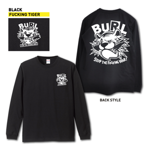【予約販売】FUCKING TIGER LONG SLEEVE(BLACK)