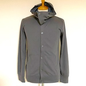 AIRLET® 2way Hooded Cardigan Charcoal
