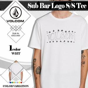 A5021900 ボルコム Tシャツ メンズ 新作 人気 ブランド おすすめ トップス 半袖 手書き風ロゴプレゼント VOLCOM Sub Bar Logo S/S Tee