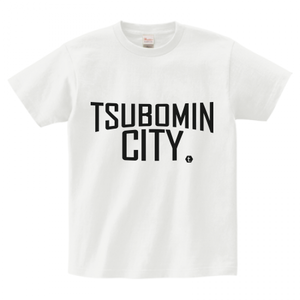 TSUBOMIN / TSUBOMIN CITY T-SHIRT WHITE