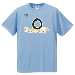 TMG breakfastclub × KYUS ドライシルキー 半袖Tシャツ(ライトブルー)