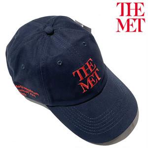 【ニューヨーク メトロポリンタン!】Met Logo Adjustable Cap メトロポリタンミュージアム オリジナル ロゴキャップ【80045728-navy】