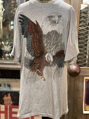 90s USA アメリカ イーグル 鷲 アニマル プリント tシャツ 動物