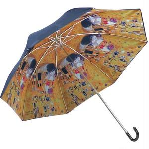 umbrella折り畳み傘 クリムト  【日傘 雨傘 晴雨兼用 街歩き 旅行 UV対策 紫外線 紫外線対策】