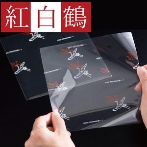 <紅白鶴>160×160(mm)