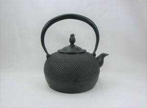 鉄瓶 平丸アラレ(小) 1.0L