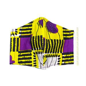 M08/アフリカ布のマスク