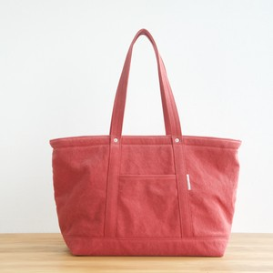 CANVAS TOTE FL / RED