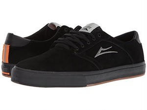 LAKAI QS OUR LIFE PORTER VLK BLACK SUEDE US8 1/2