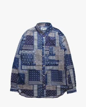 TRANSPORT Bandana Shirt  Navy