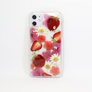 【11対応】押し花 iPhone case