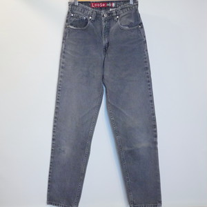 "Levi's 1990's Silver Tab Loose ""Made in USA"" Size5/6 LONG"