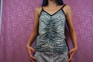 zebra camisole