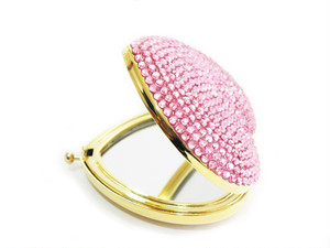 SUGAR Heart Mirror Pink