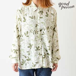 botanical polyester shirt
