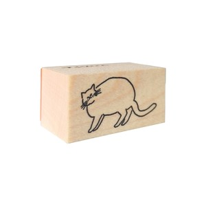 スタンプ「ふりむいて、猫」
