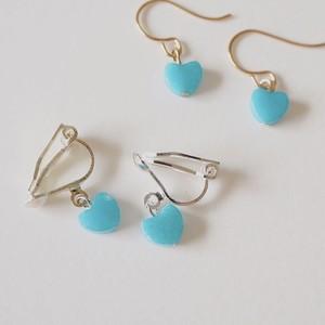 245.heart piace&earring