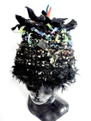 DEL-HITS×Cool Klothesフェルトのお花のニット帽B