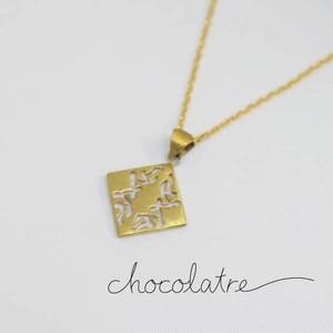 chocolatre「ガナッシュ」ブラスペンダント