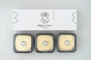 塩分控えめ北海道産さるふつバター100g 3個入×2セット【EC02001】