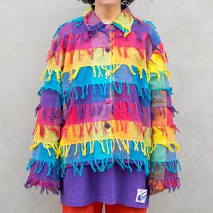Rainbow Fringe Jacket