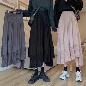 design uni frill skirt 3color
