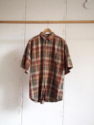 USED / TOMMY HILFIGER, S/S check shirts