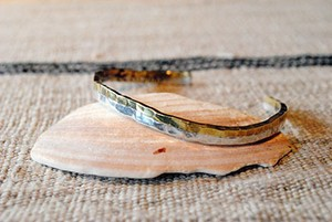 Slow Hands スロウハンズ S BR-8 Silver/Brass 2tone Bracelet