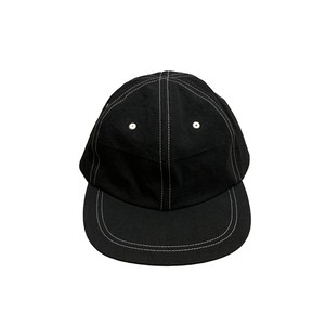 JHAKX / HEMP HAT -BLACK-