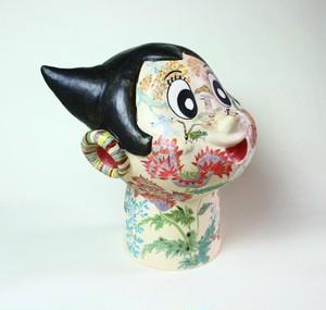 アトム/ オブジェ/ 陶芸/ 現代アート/ 花彙/ 色絵/ contemporary ceramic art