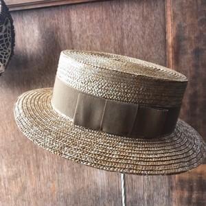 Porter des boutons×Santelli Francescaのストローカンカン帽