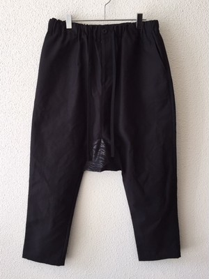 "【18028】SAROUEL LONG PANTS ""BLACK"""