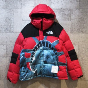 SUPREME × TNF 19AW Statue of Liberty Baltoro Jacket