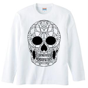 [ロングスリーブTシャツ] THE SKULL