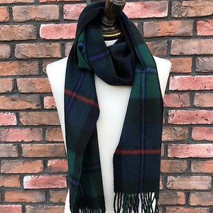 Hilltop Brand Lambswool & Angora Scarf Made in Scotland