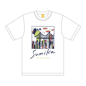sumika / Wonder Bridge Tシャツ(ホワイト)