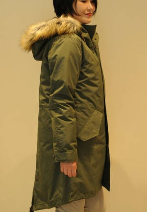 FRED PERRY/WOMEN FISHTAIL PARKA(フィッシュテイルパーカ)