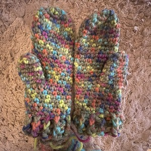 mulch color mitten