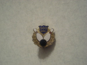 BADGE / BOWLING 500SERIES
