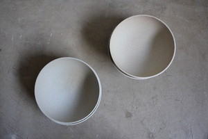 mushimegane books. bowl 22/white blue grey
