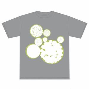 月転 -GETTEN- Tシャツ グレー