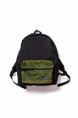 Big bag  BLACK×YELLOW  18AW-FS×OD-01