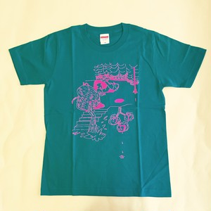 【SALE】shinowa T-shirt (AppleGreen/150cm)