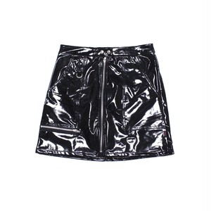 【TRIPP NYC】PVC ZIP FRONT SKIRT